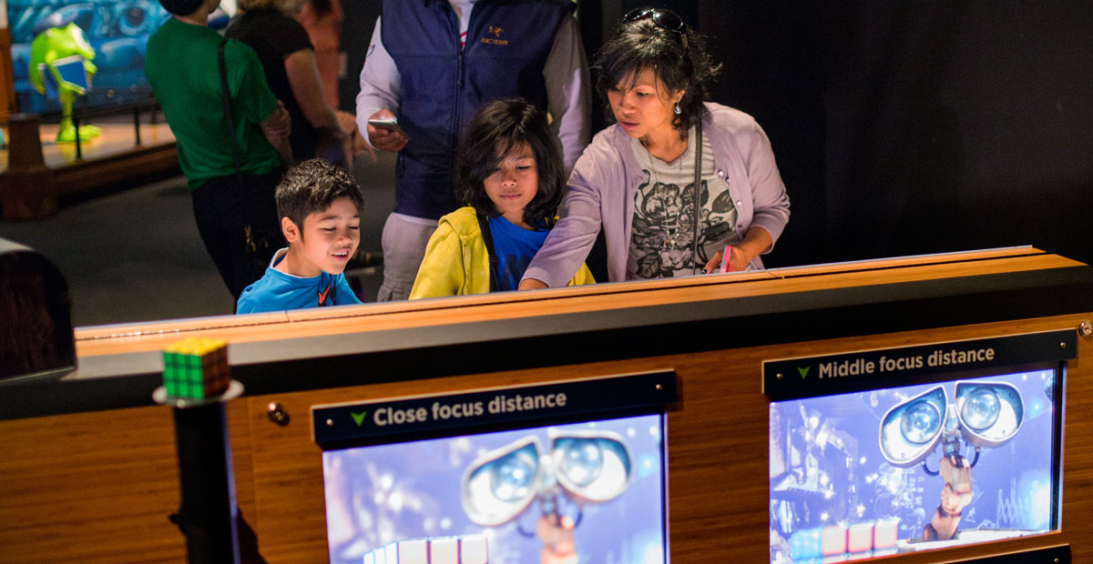 The Science Behind Pixar Sets and Cameras Interactive